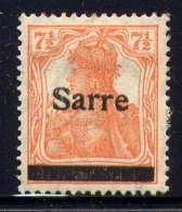 SARRE  - 5* - BAVARIA - Unused Stamps