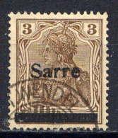 SARRE  - 3° - BAVARIA - 1920-35 League Of Nations