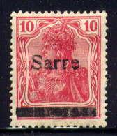 SARRE  - 6(*) - BAVARIA - Unused Stamps