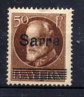 SARRE  - 25(*) - LOUIS II - Unused Stamps