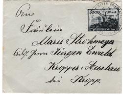 Bayer 1923 - 5000 Mark - Brief Lettre Letter - Entonnoir - Inflation - Infla