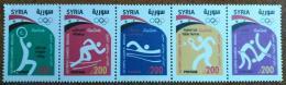 SYRIA 2016 SG 2487-2491 MNH Complete Set 5v. - Olympic Games Rio, Brasil, Brazil, Sports - Cv 157$ - Syria
