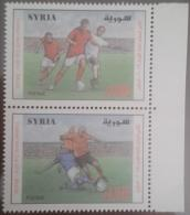 SYRIA 2014 SG 2452-2453 MNH Coplte Set - Brasil World Cup Football Championship In Pane Of 2 Stamps - Cv 68$ - Syrië