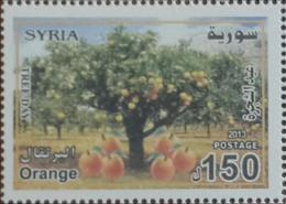 Syria 2013 SG 2443 MNH - Tree Day - Orange Tree - Cv 25$ - Siria