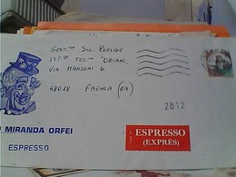IMOLA CIRCO MIRANDA ORFEI  BUSTA ESPRESSO VB1982 GU3564 - Imola