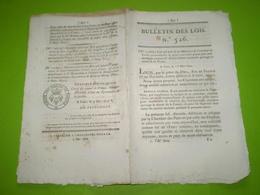 1822:Publication De Dessins Gravés Ou Lithographiés. Legs Montélimar,Romans,St Paul Trois Chateaux,Chavannes,Bren ... - Décrets & Lois