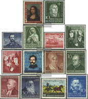 FRD (FR.Germany) 148-161 (complete Issue) Volume 1952 Completeett Unmounted Mint / Never Hinged 1952 MonA LisA, Rice, Yo - Unused Stamps