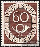 FRD (FR.Germany) 135 Unmounted Mint / Never Hinged 1951 Horn - Unused Stamps
