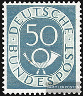 FRD (FR.Germany) 134 Unmounted Mint / Never Hinged 1952 Horn - BRD