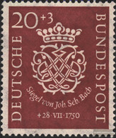 FRD (FR.Germany) 122 Unmounted Mint / Never Hinged 1950 200.Death Of Bach - Unused Stamps