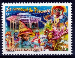 New Caledonia, Nouméa Carnival, 2017, MNH VF - New Caledonia