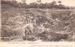 Antilles  .Trinidad      Hard Pitch Lake La Brea       (voir Scan) - Trinidad