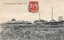 Antilles  .Trinidad      A Sugar Factory         (voir Scan) - Trinidad