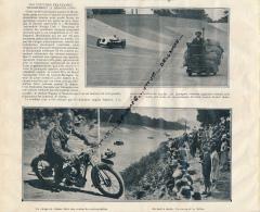 1926 : L'AUTOMOBILE EN GRANDE-BRETAGNE, Brooklands, Grand Prix, Wagner, Sénéchal,  Moto, Motocyclette - Automobile - F1