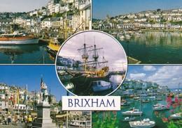Postcard Brixham Devon Multiview By John Hinde  My Ref  B23132 - Other