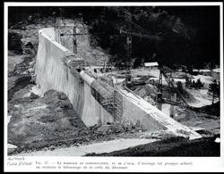 11958  --  AUSSOIS PLAN D AMONT BARRAGE EN CONSTRUCTION    3P815 - Non Classificati
