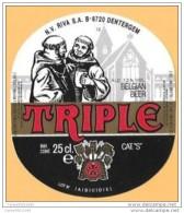 BEER LABELS - FROM BELGIUM - 0039 - Beer