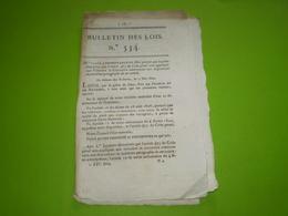 Lois 1822:Nomination & Fonction Abbé Frayssinous Grand Maître De L'Unisersité.Service Des Postes France Gd Duché De Bade - Decrees & Laws