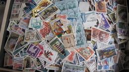 USA   - Zirka 1 Kg Gewaschene Briefmarken - Vereinigte Staaten
