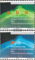 Switzerland ITU16-ITU17 (complete Issue) Unmounted Mint / Never Hinged 1999 Telelernen And Telemedizin - Switzerland