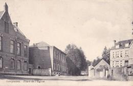 Gerpinnes Place De L'Eglise Circulée En 1911 - Gerpinnes