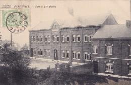 Farciennes Cercle Ste Barbe Circulée En 1911 - Farciennes