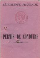 République Française  Permis De Conduire - Collections