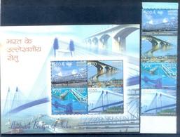M21- India 2007. Landmark Bridges Of India. Architecture. - Bridges