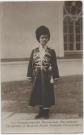 RUSSIE. CARTE PHOTO. FAMILLE IMPERIALE. SON ALTESSE IMPERIALE, PRINCE HERITIER ALEXIS NICOLAÏEVITCH. - Koninklijke Families