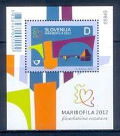 M24- Slovenia Slowenien 2012. Stamp Exhibition Maribofila 2012. - Philatelic Exhibitions