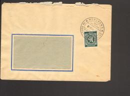 Alli.Bes. 16 Pfg.Ziffer Auf Ortsbrief Aus München 5 V.1946 M.Sonderstempel Rotes Kreuz Helft Uns Helfen - Gemeinschaftsausgaben