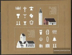 Iceland Block59 (complete Issue) Unmounted Mint / Never Hinged 2013 Church - 1944-... Republik