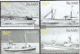 Iceland 1095Eu-1098Eo (complete Issue) Unmounted Mint / Never Hinged 2005 Vessels - Ungebraucht