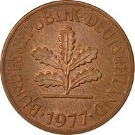 Monnaie, République Fédérale Allemande, 2 Pfennig, 1977, Hambourg, TTB - [ 7] 1949-… : FRG - Fed. Rep. Germany