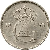 Monnaie, Suède, Gustaf VI, 10 Öre, 1973, TB+, Copper-nickel, KM:835 - Suède