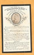 IMAGE PIEUSE CARTE MORTUAIRE GENEALOGIE FAIRE PART AVIS DECES PONT LES BRIE ENFANT DE MARIE 1860 1886 SOMME - Avvisi Di Necrologio