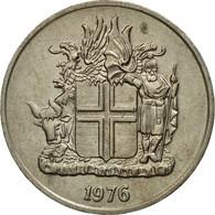 Monnaie, Iceland, 10 Kronur, 1976, TTB, Copper-nickel, KM:15 - Island