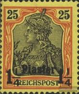 Dt. Post Türkei 15 Testati MNH 1900 Stampa Edizione - Ufficio: Turchia