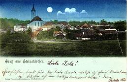 STEINAKIRCHEN, Mondscheinkarte, 19..8.1902 - Scheibbs