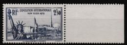 1940 Y&T N° 458 BdF N** - Ongebruikt
