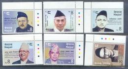 M34- Nepal 2015 Famous People. Personnages Celèbres Du Népal. - Nepal