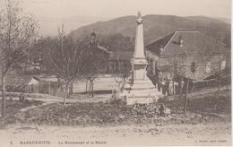 CPA Margueritte - Le Monument Et La Mairie - Algérie