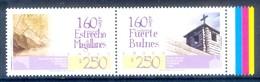 M38- Chile 2006. 160th Anniversaries, Straits Of Magellan & Fort Bulnes. - Chile