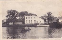 Visé Robinson-Plage Vue Du Restaurant Circulée En 1944 - Wezet