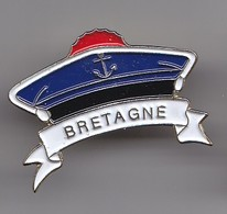 Pin's Bretagne Bachi Ancre De Marine Réf 5378 - Städte