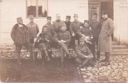 5 SELTENE Originalfoto- AK  K.-K. Soldaten & Offiziere / Österreich - 1. Weltkrieg - Guerra 1914-18