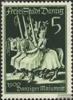 Danzig 302 Postfrisch 1939 Tag Der Marke - Dantzig