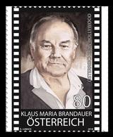 Austria 2018 Mih. 3428 Cinema. Actor Klaus Maria Brandauer MNH ** - 1945-.... 2nd Republic