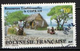 POLINESIA FRANCESE - 1989 - ESSICCATURA DELLA POLPA DI CONCHIGLIA - USATO - Polinesia Francese