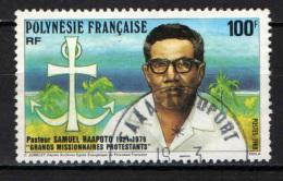 POLINESIA FRANCESE - 1988 - MISSIONARI PROTESTANTI - USATO - Polinesia Francese